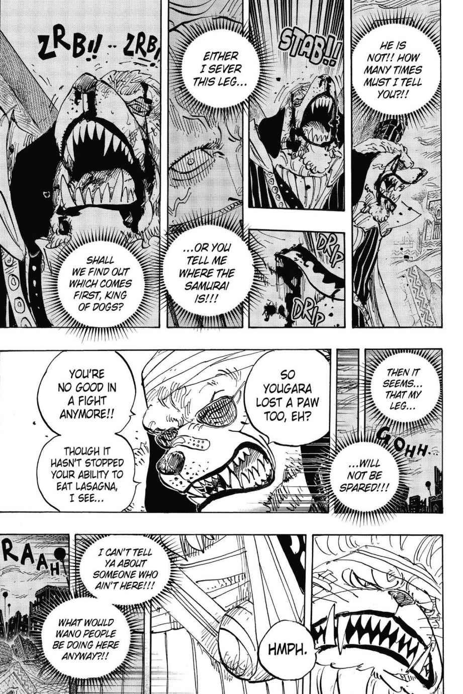 One Piece, Chapter 816 image 009