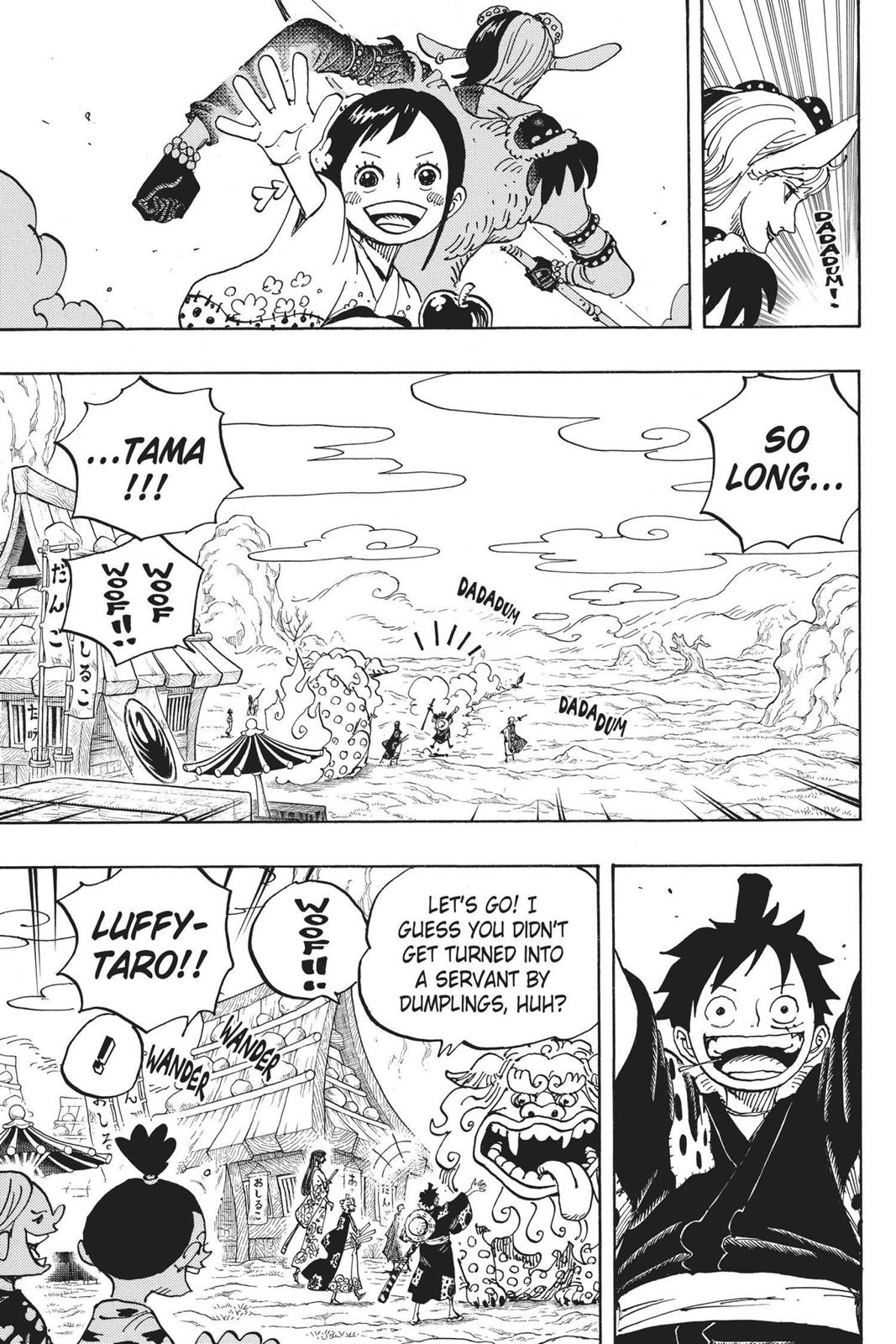 One Piece, Chapter 919 image 003