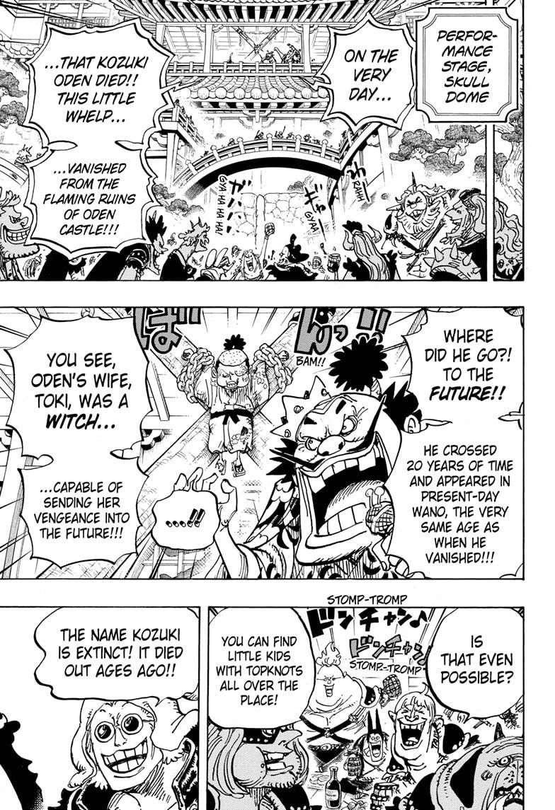 One Piece, Chapter 984 image 007