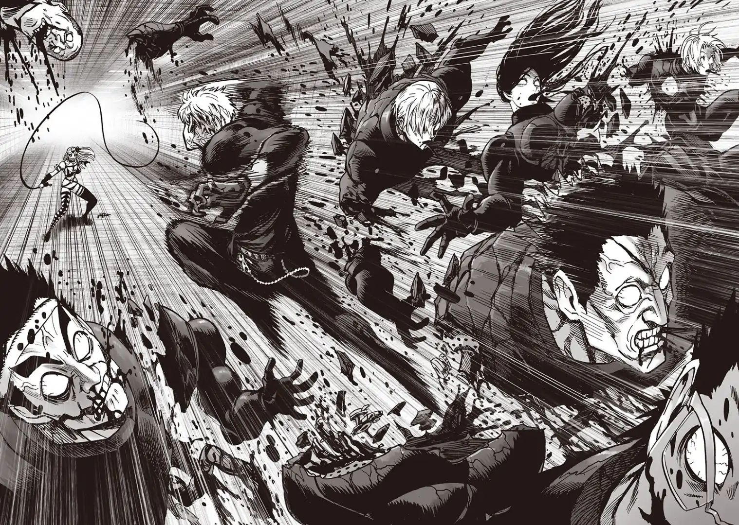 One Punch Man, Chapter Onepunch-Man 103 image 009