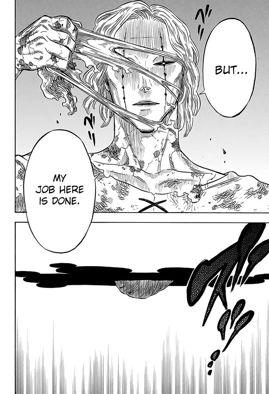 Black Clover, Chapter 32 The Man at the End of the Darkness image 017