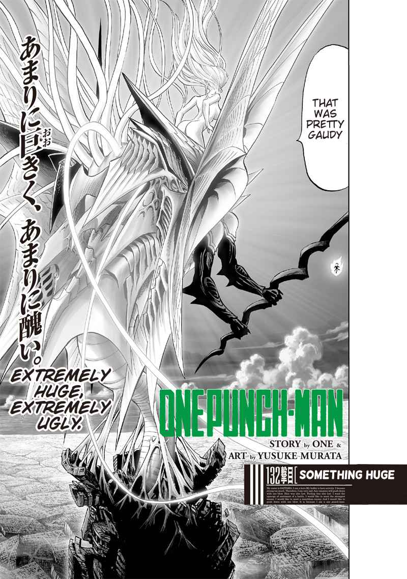 One Punch Man, Chapter 132 image 001