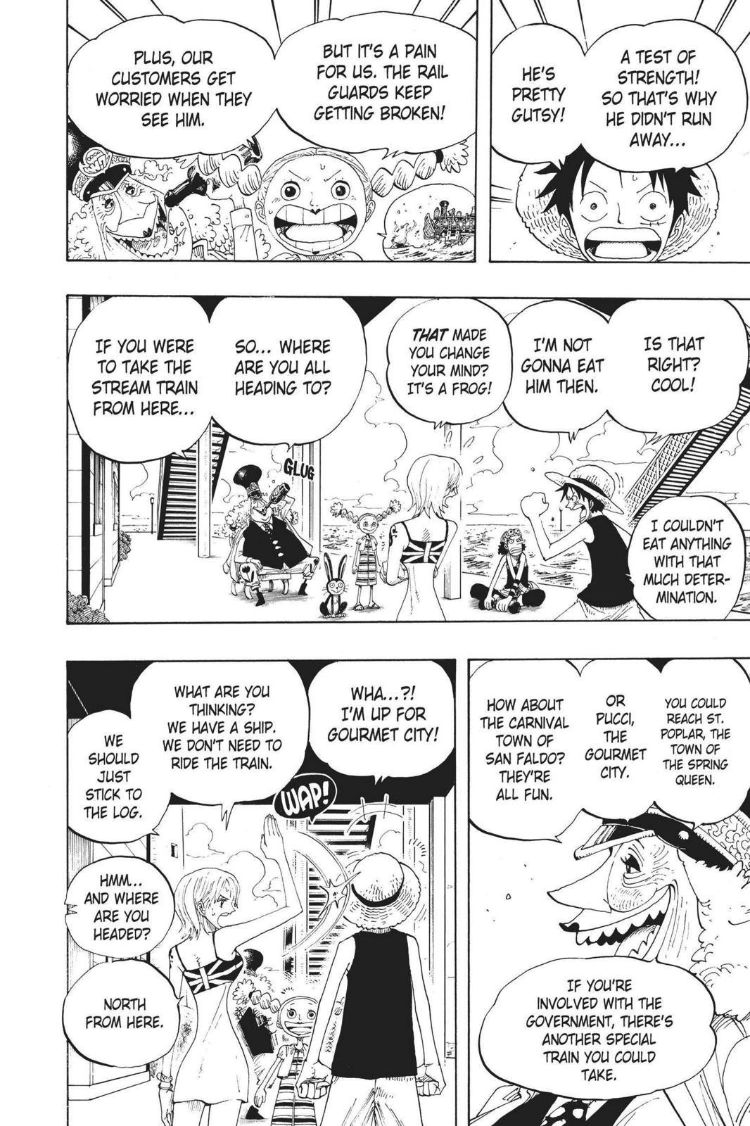 One Piece, Chapter 322 image 017