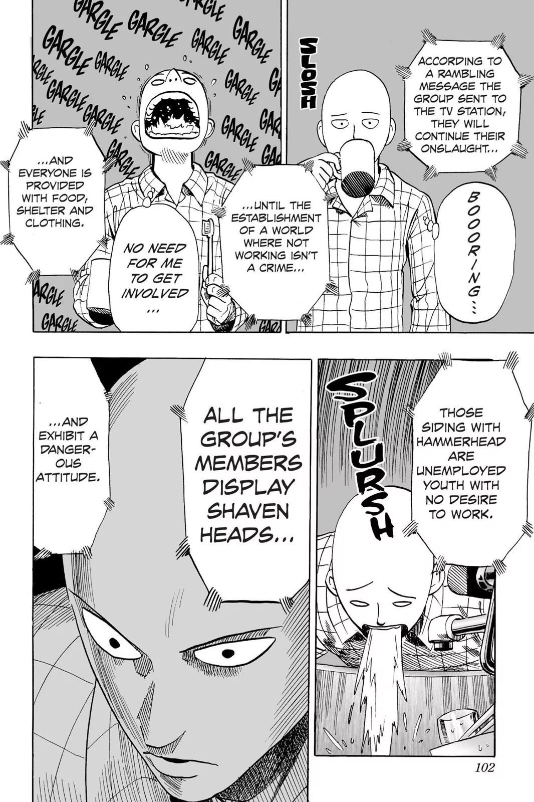 One Punch Man, Chapter Onepunch-Man 12 image 014