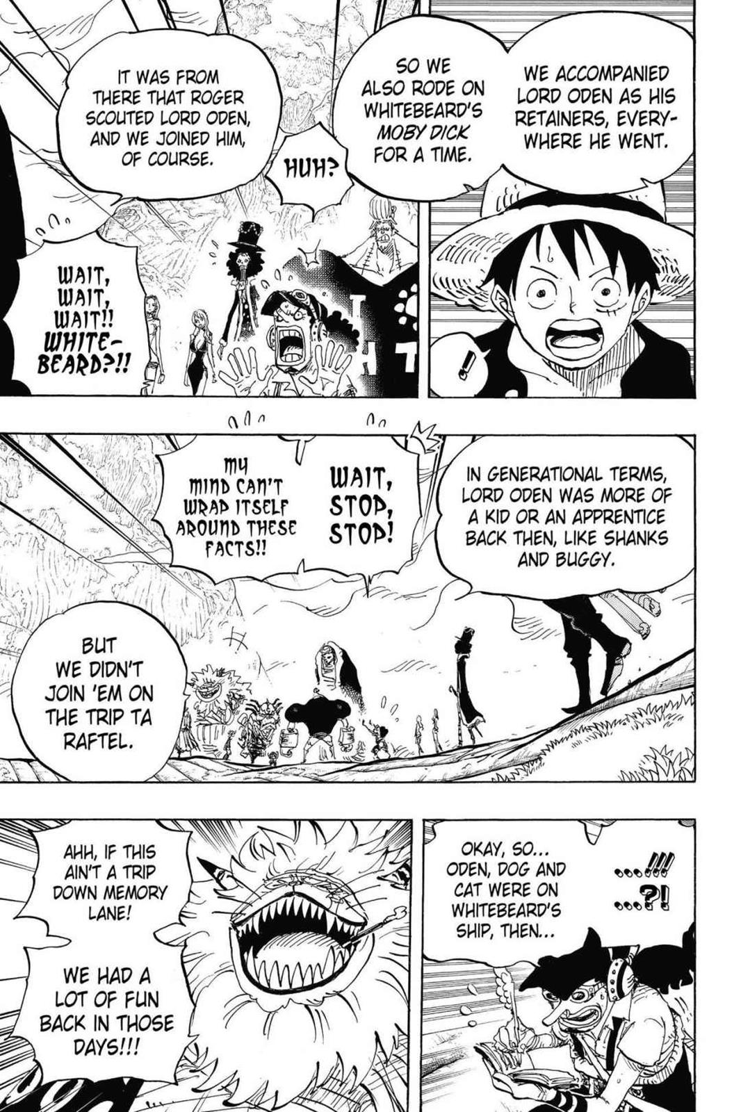 One Piece, Chapter 820 image 003