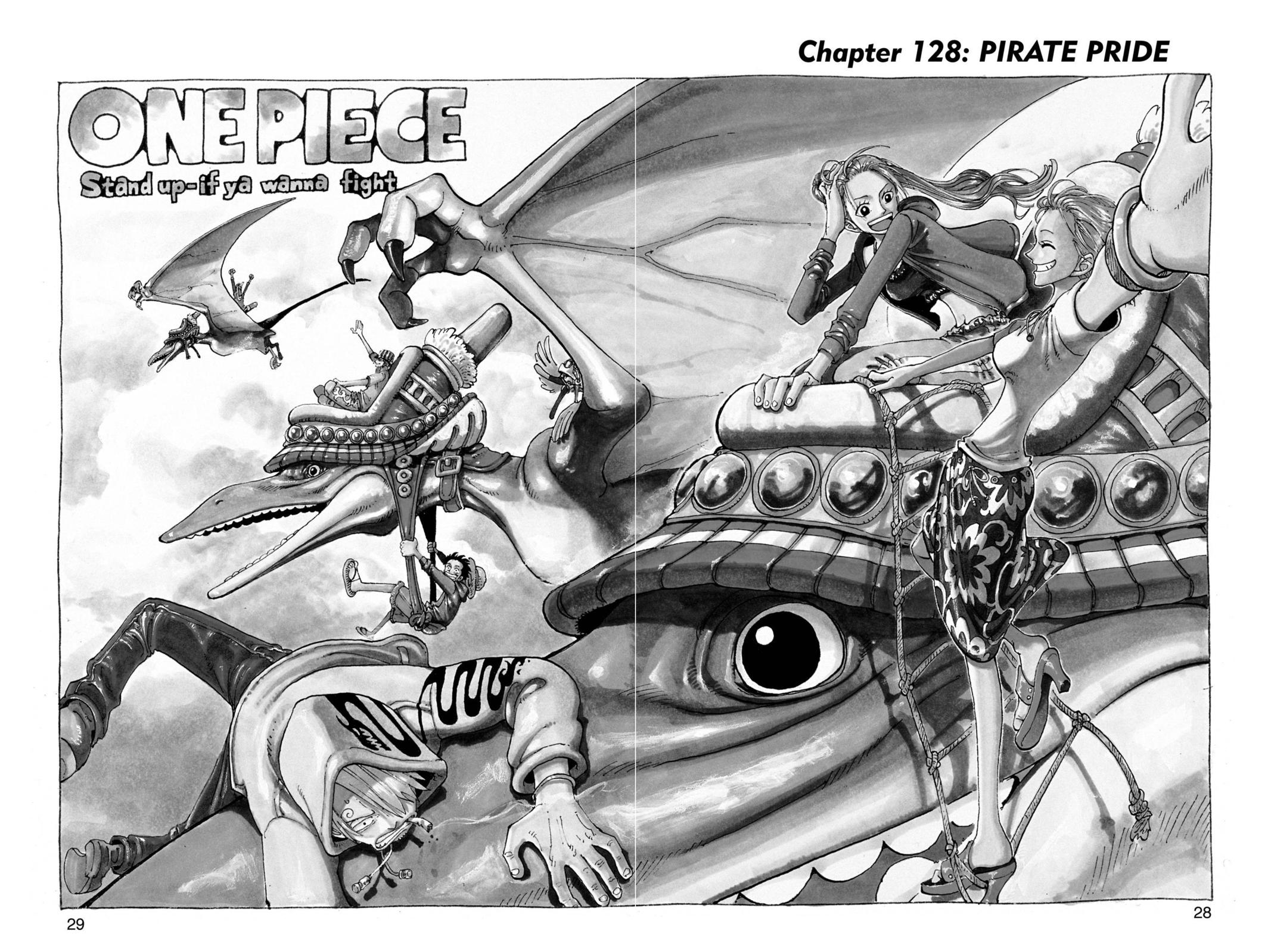 One Piece, Chapter 128 image 002