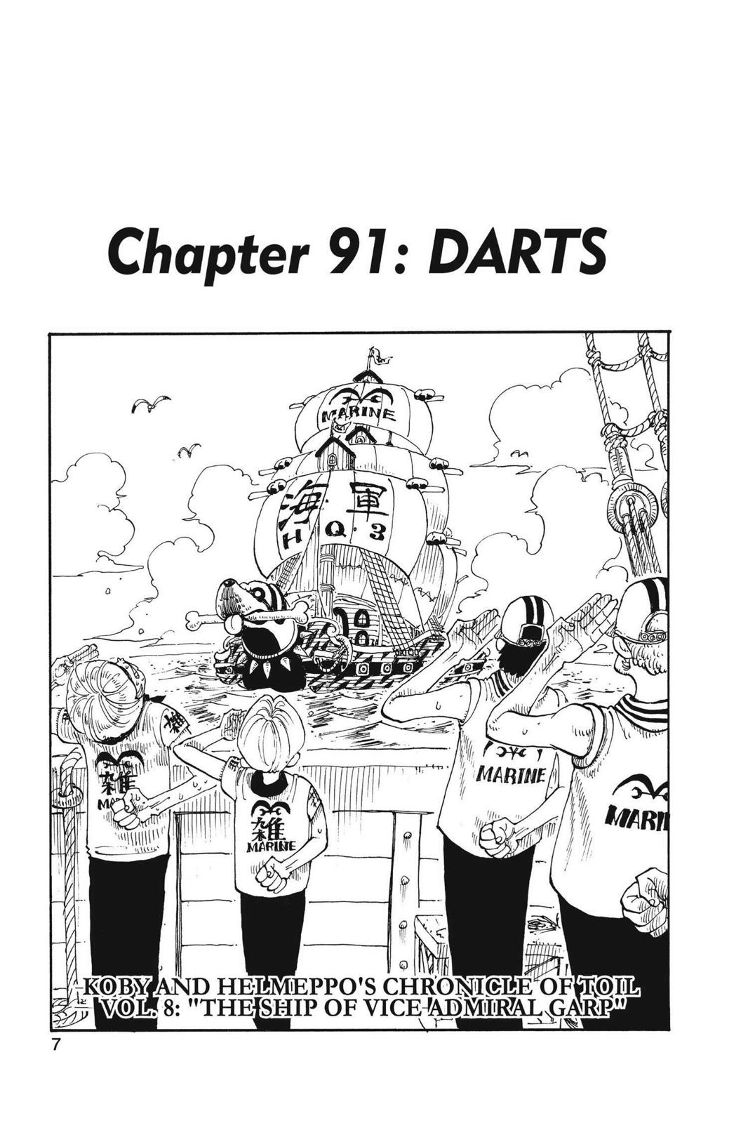 One Piece, Chapter 91 image 008
