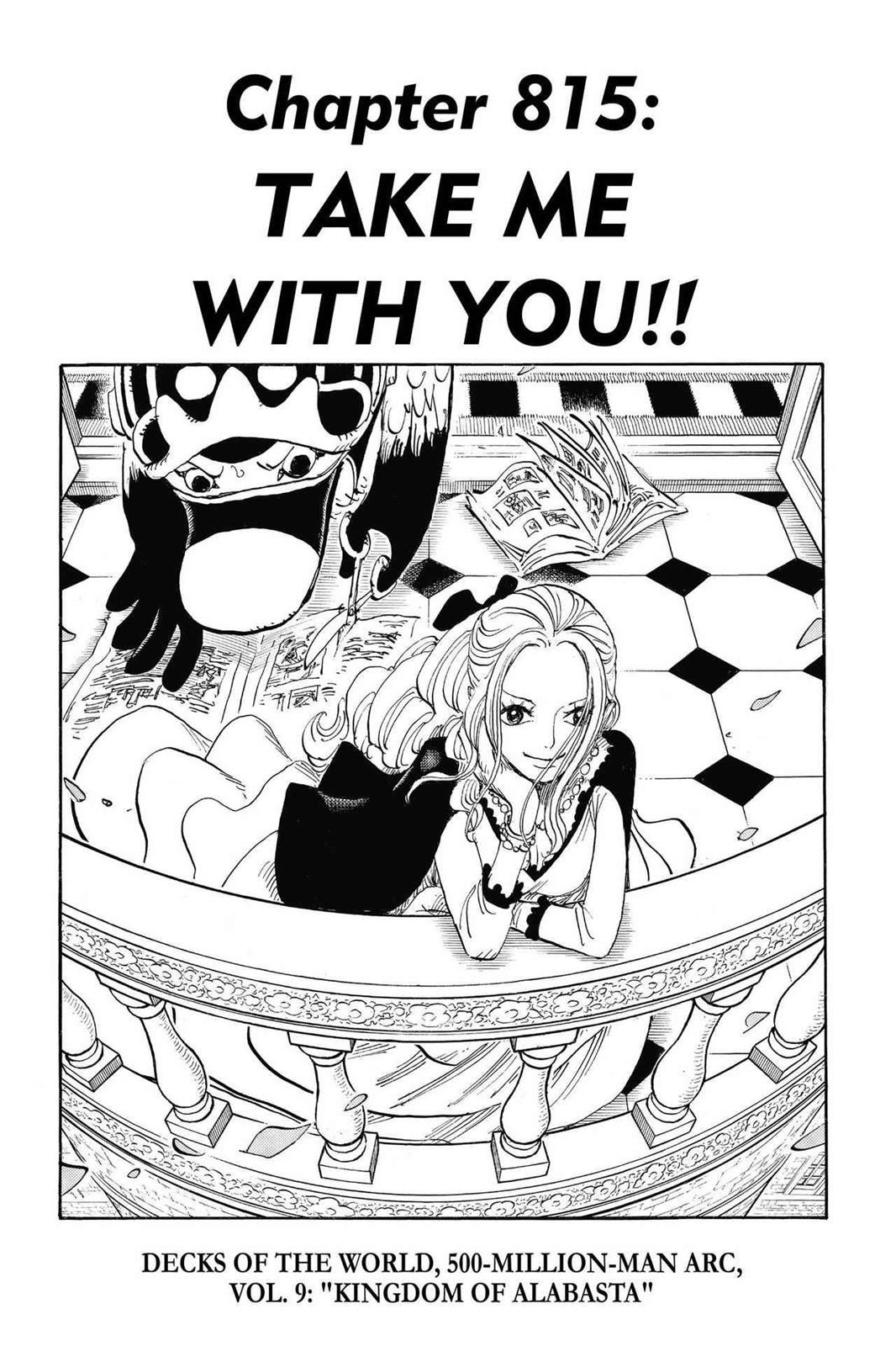One Piece, Chapter 815 image 001