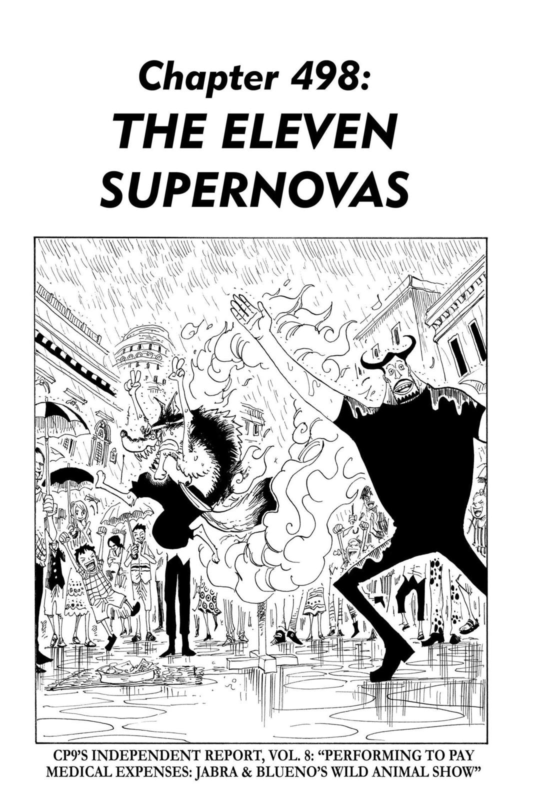 One Piece, Chapter 498 image 001