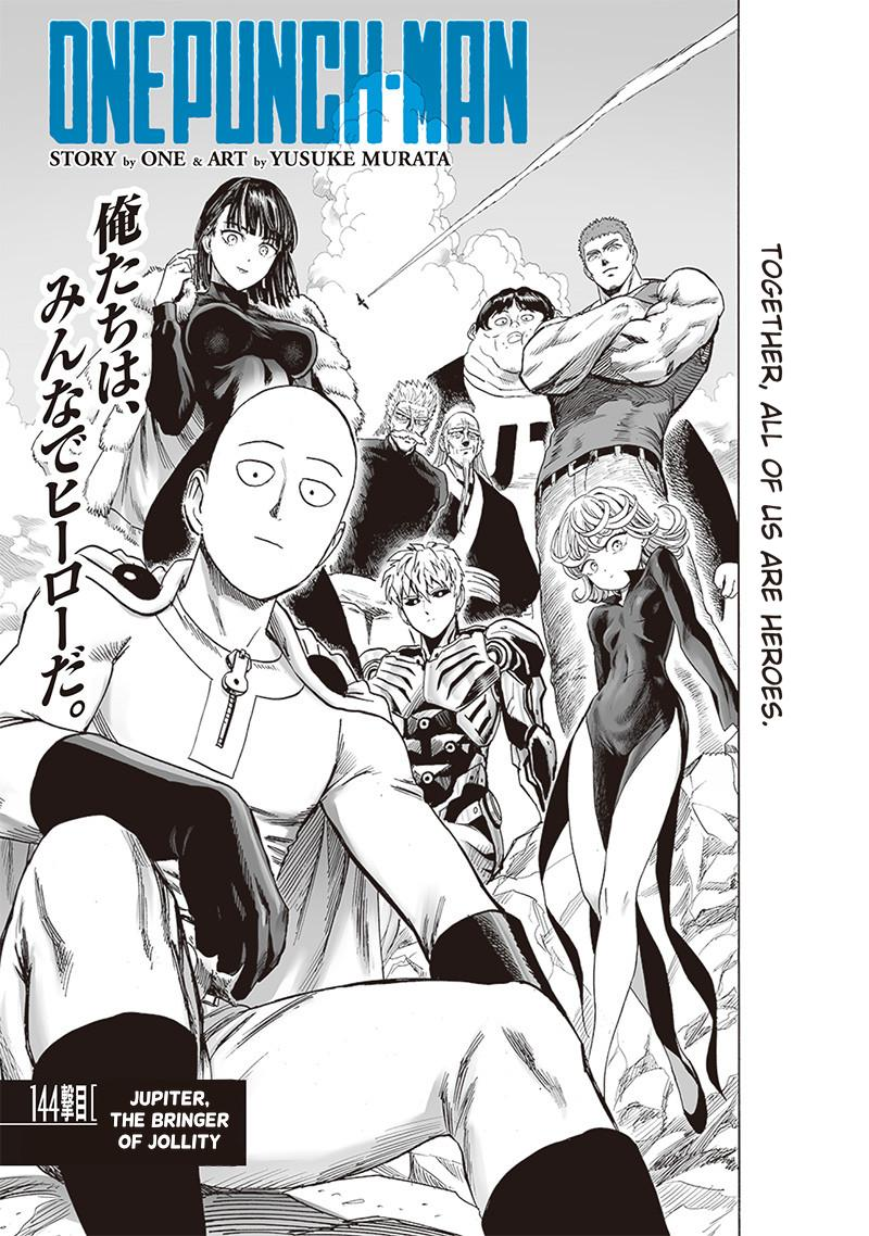 One Punch Man, Chapter 144 image 001
