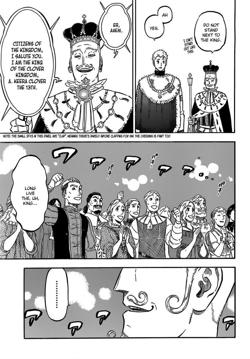 Black Clover, Chapter 107 The King of the Clover Kingdom image 003