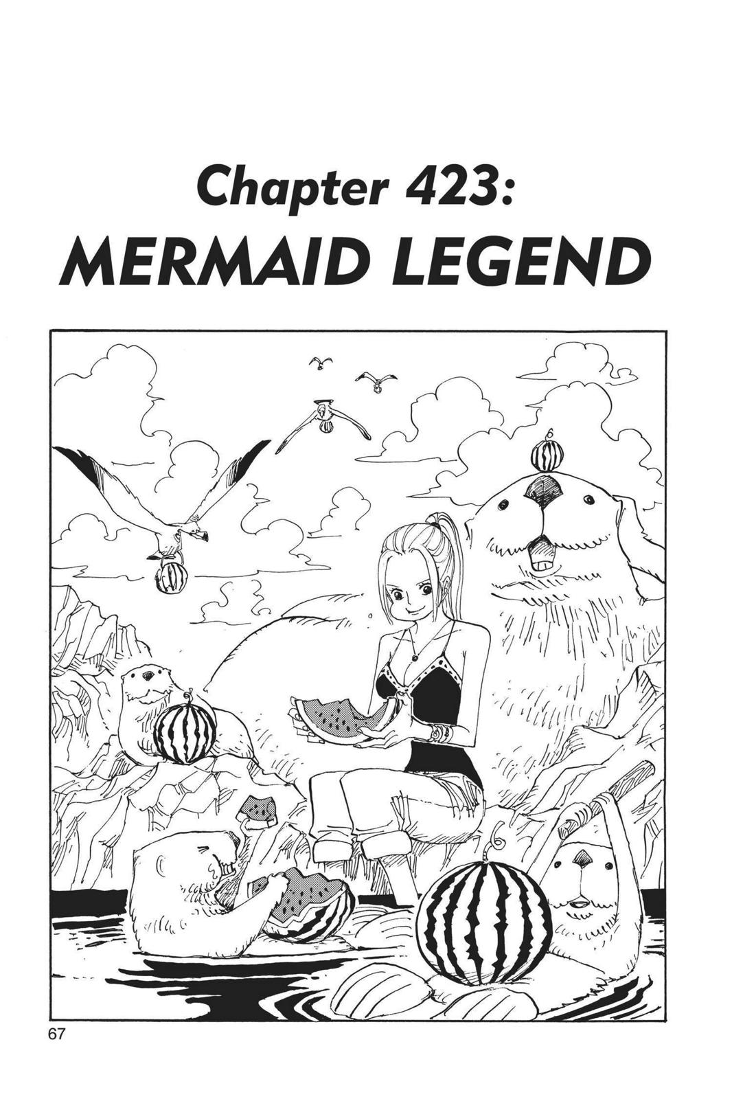 One Piece, Chapter 423 image 001