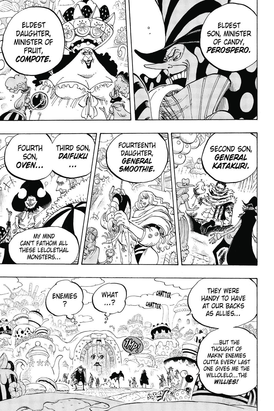 One Piece, Chapter 861 image 003