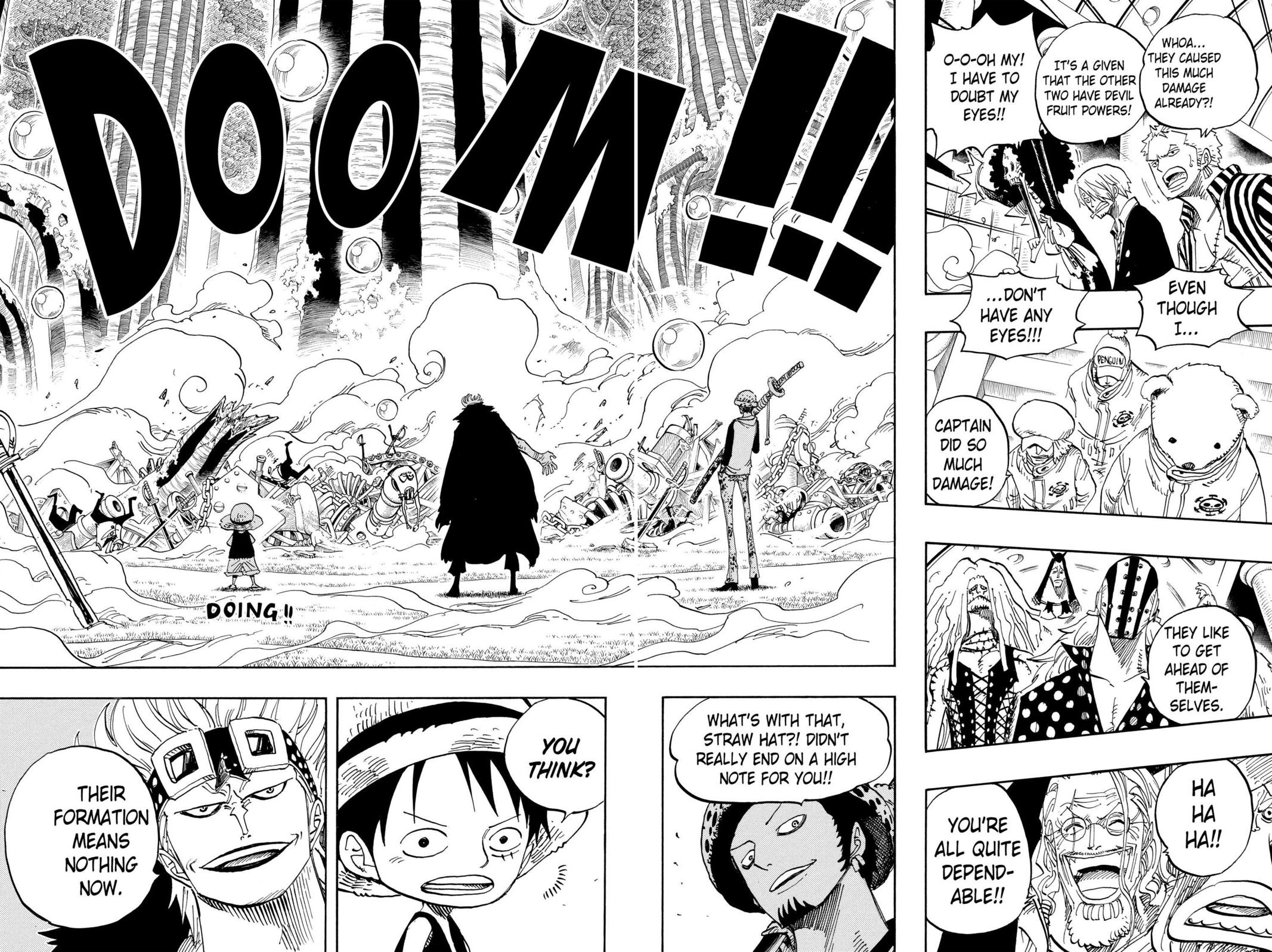 One Piece, Chapter 505 image 008