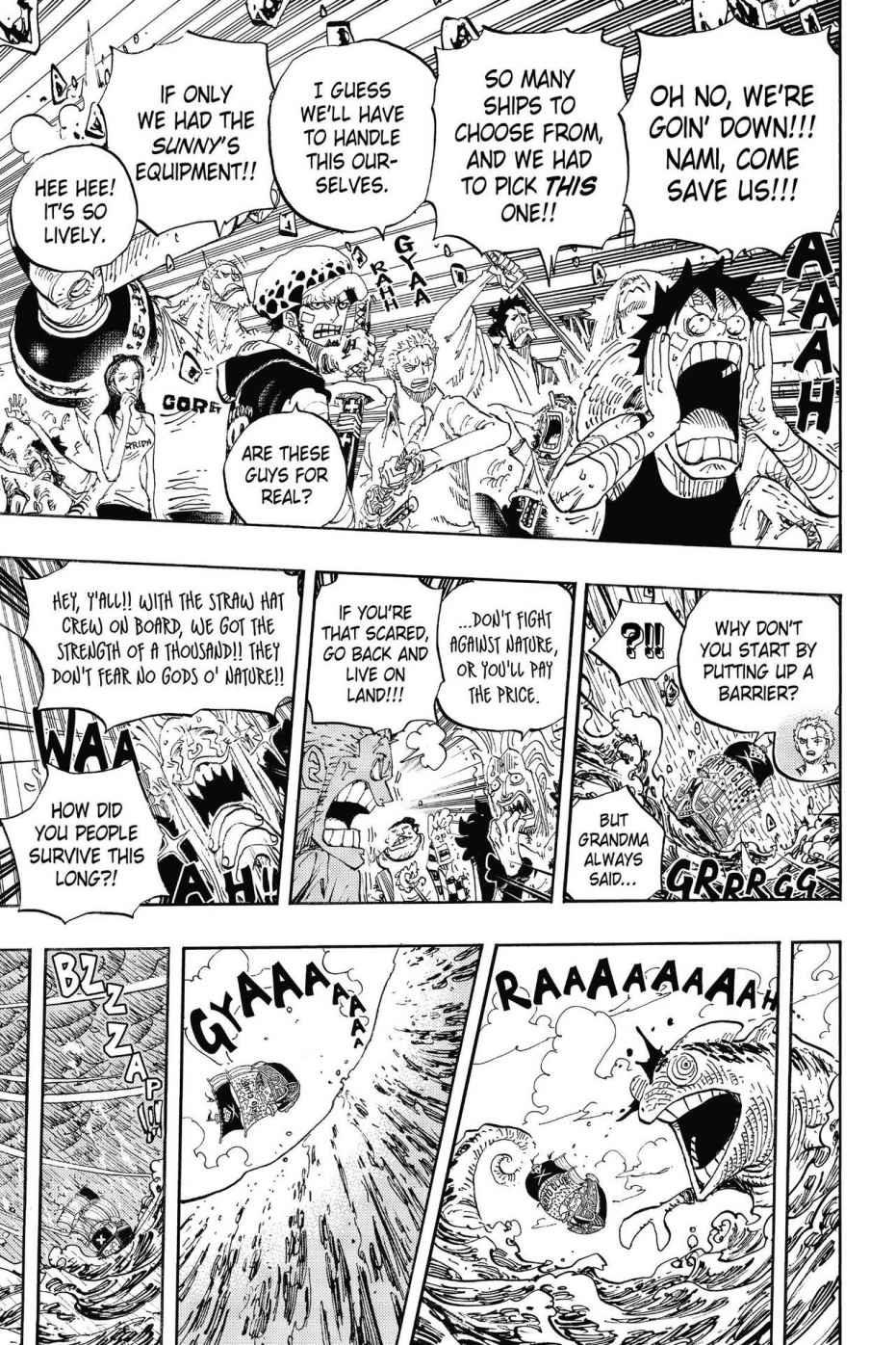 One Piece, Chapter 802 image 005