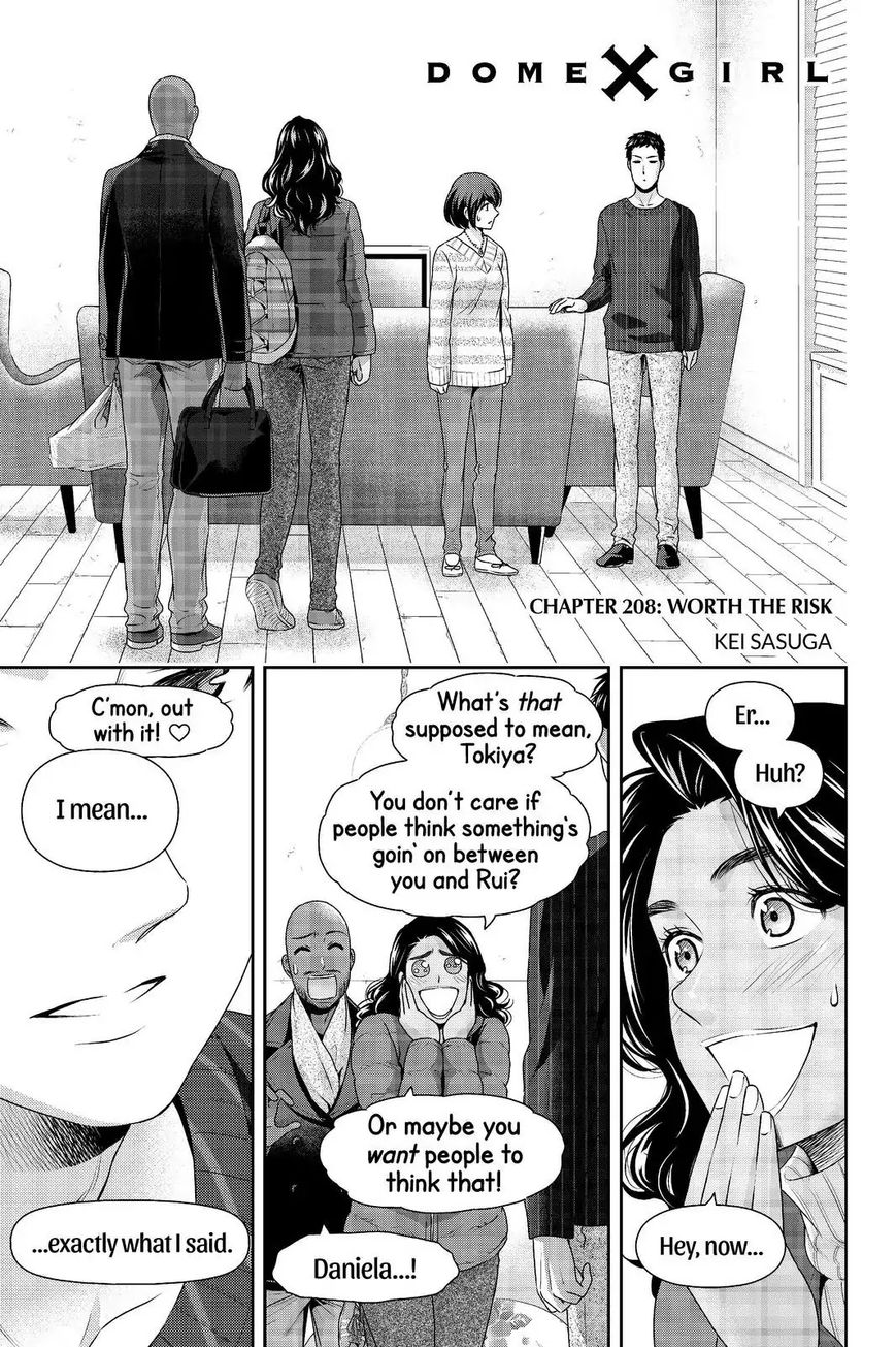 Domestic Girlfriend, Chapter 208 Worth The Risk image 001