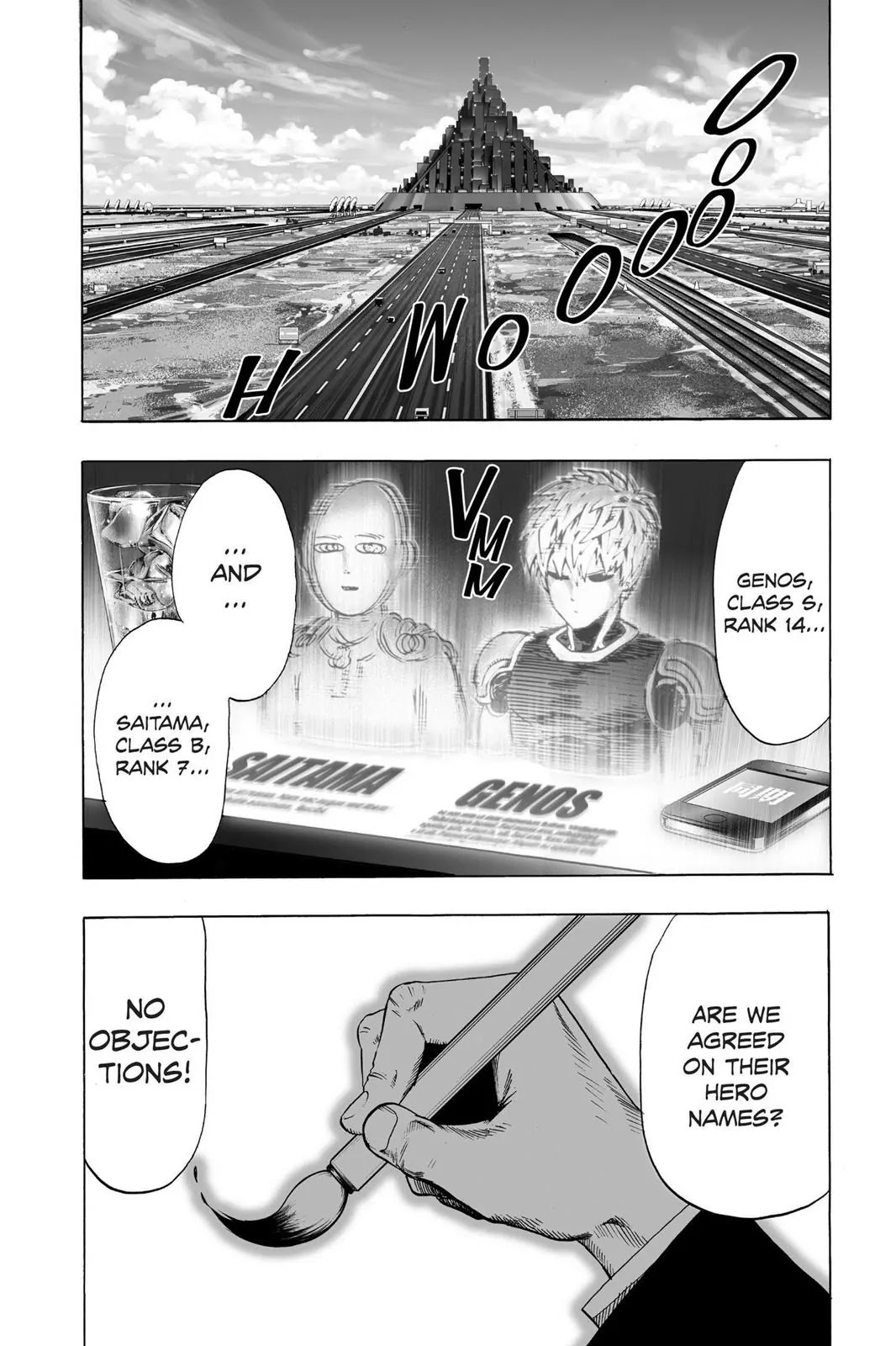 One Punch Man, Chapter Onepunch-Man 45 image 019