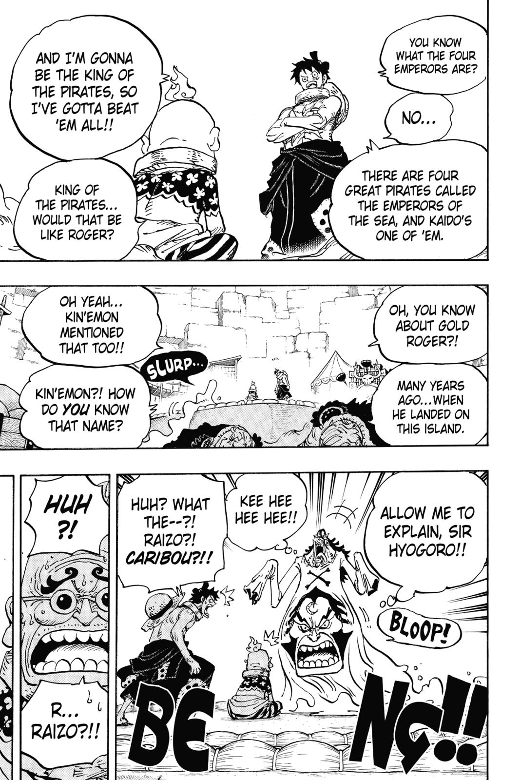 One Piece, Chapter 940 image 013