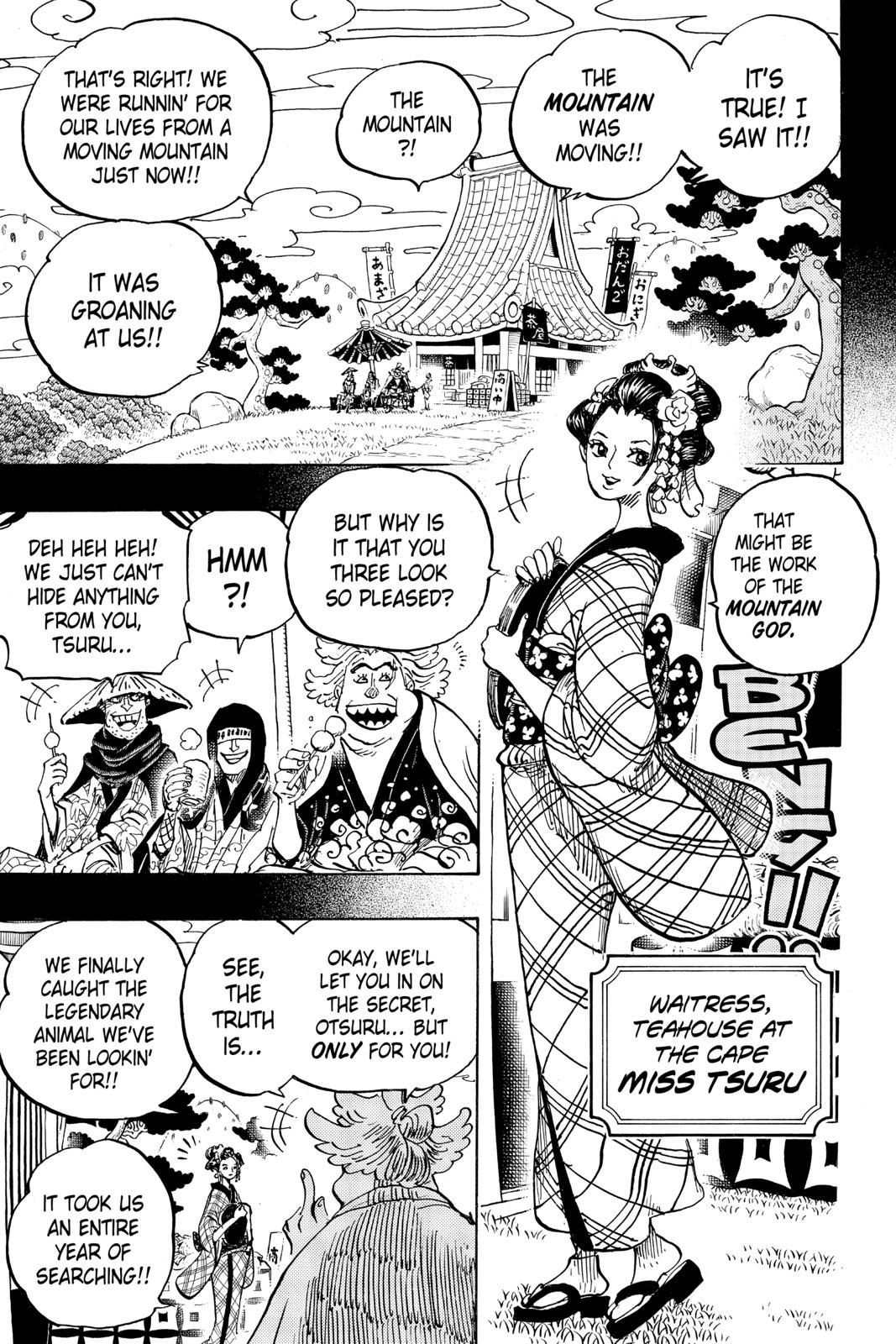 One Piece, Chapter 960 image 003