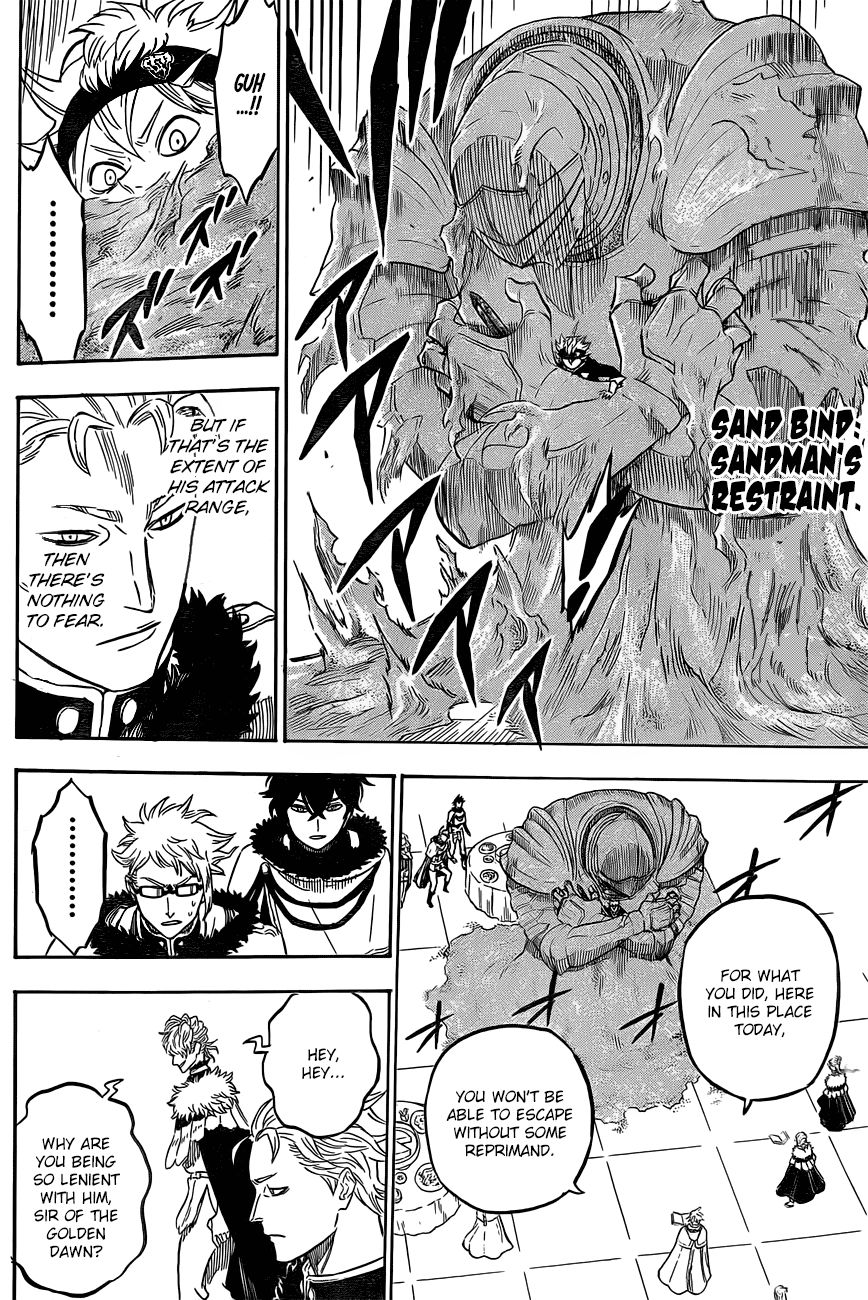 Black Clover, Chapter 24 The Riot At The Castle Town image 010
