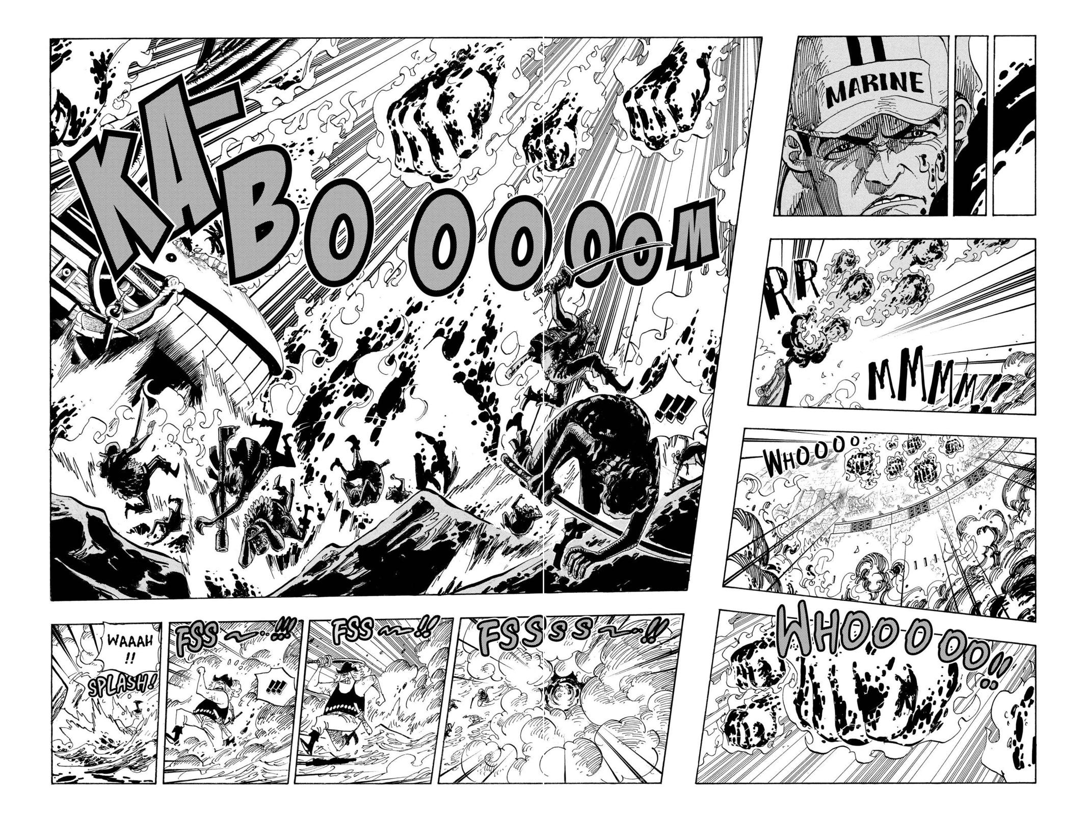 One Piece, Chapter 565 image 004
