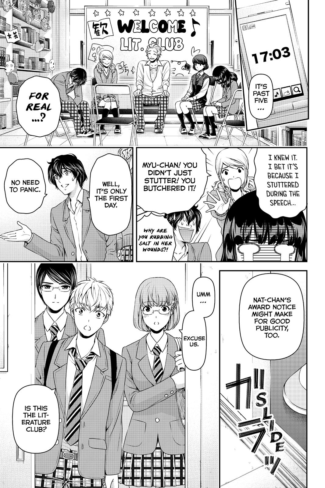 Domestic Na Kanojo, Chapter 73 image 011