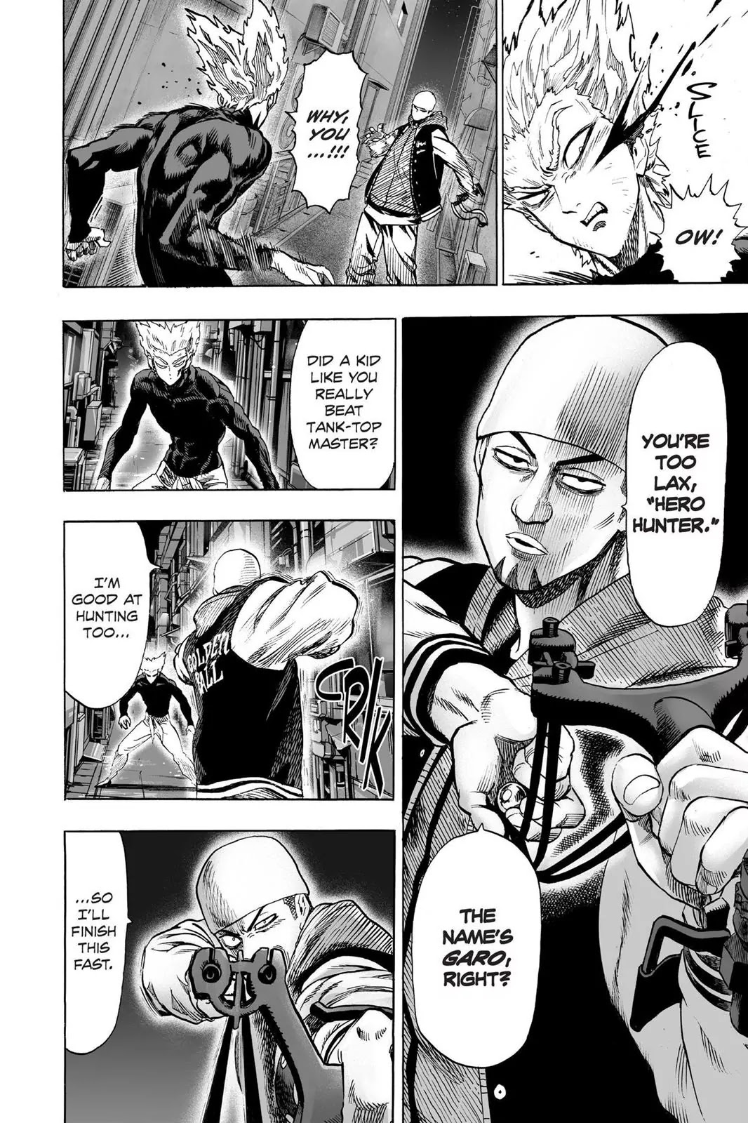 One Punch Man, Chapter Onepunch-Man 50 image 006