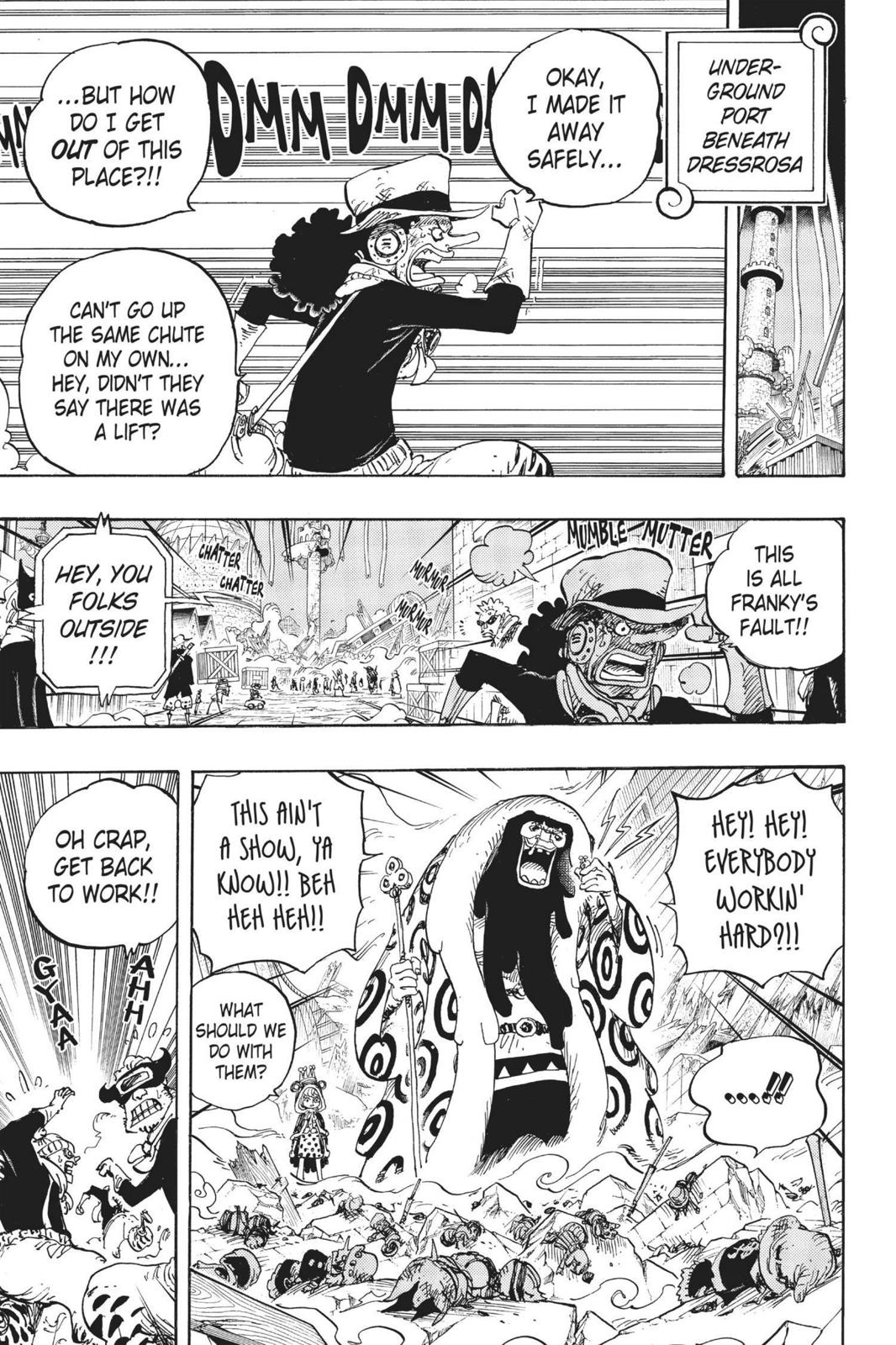 One Piece, Chapter 741 image 003