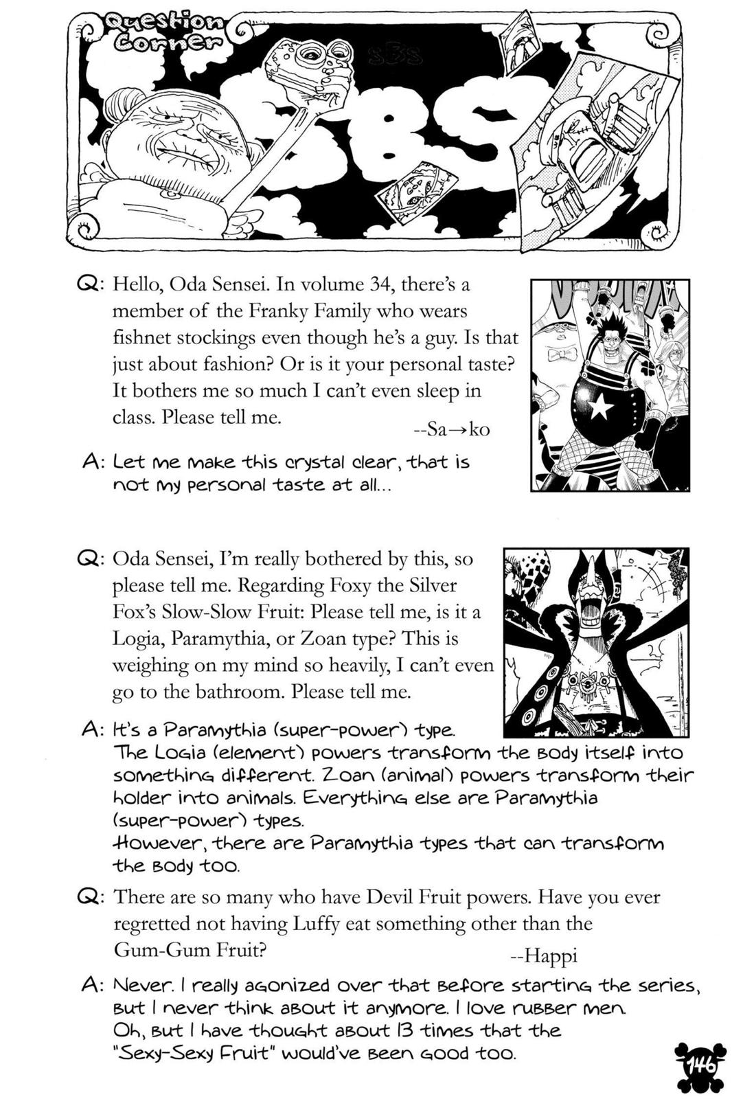 One Piece, Chapter 334 image 020