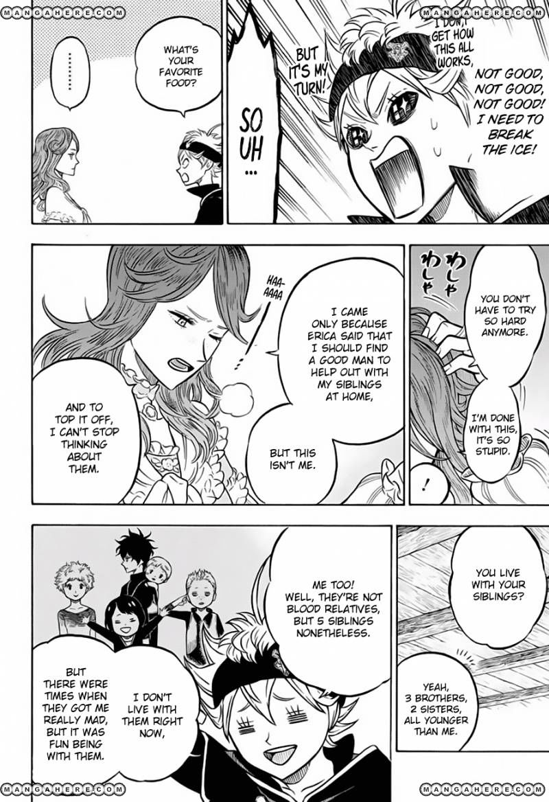 Black Clover, Chapter 38 The Person in My Heart image 010