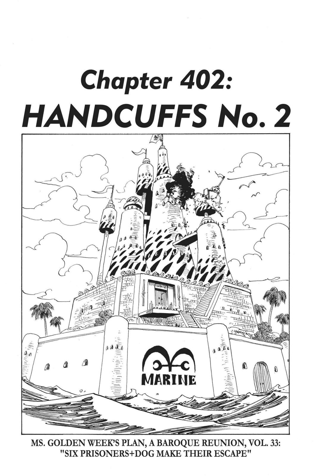 One Piece, Chapter 402 image 001