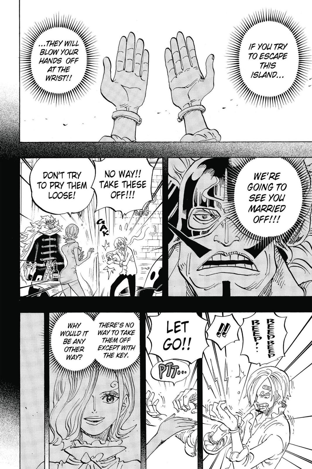One Piece, Chapter 834 image 002