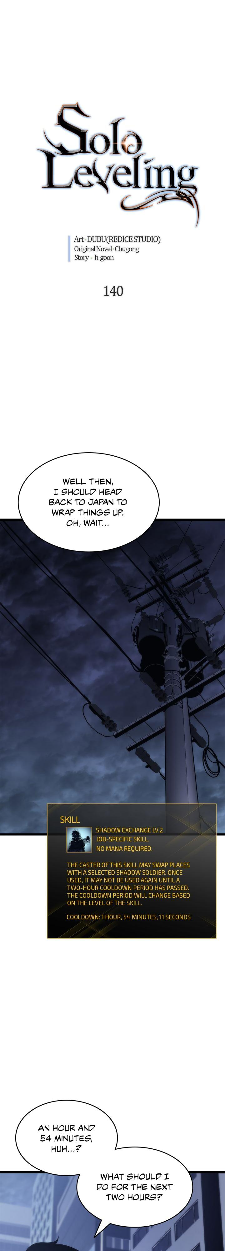 Solo Leveling, Chapter 140 image 001