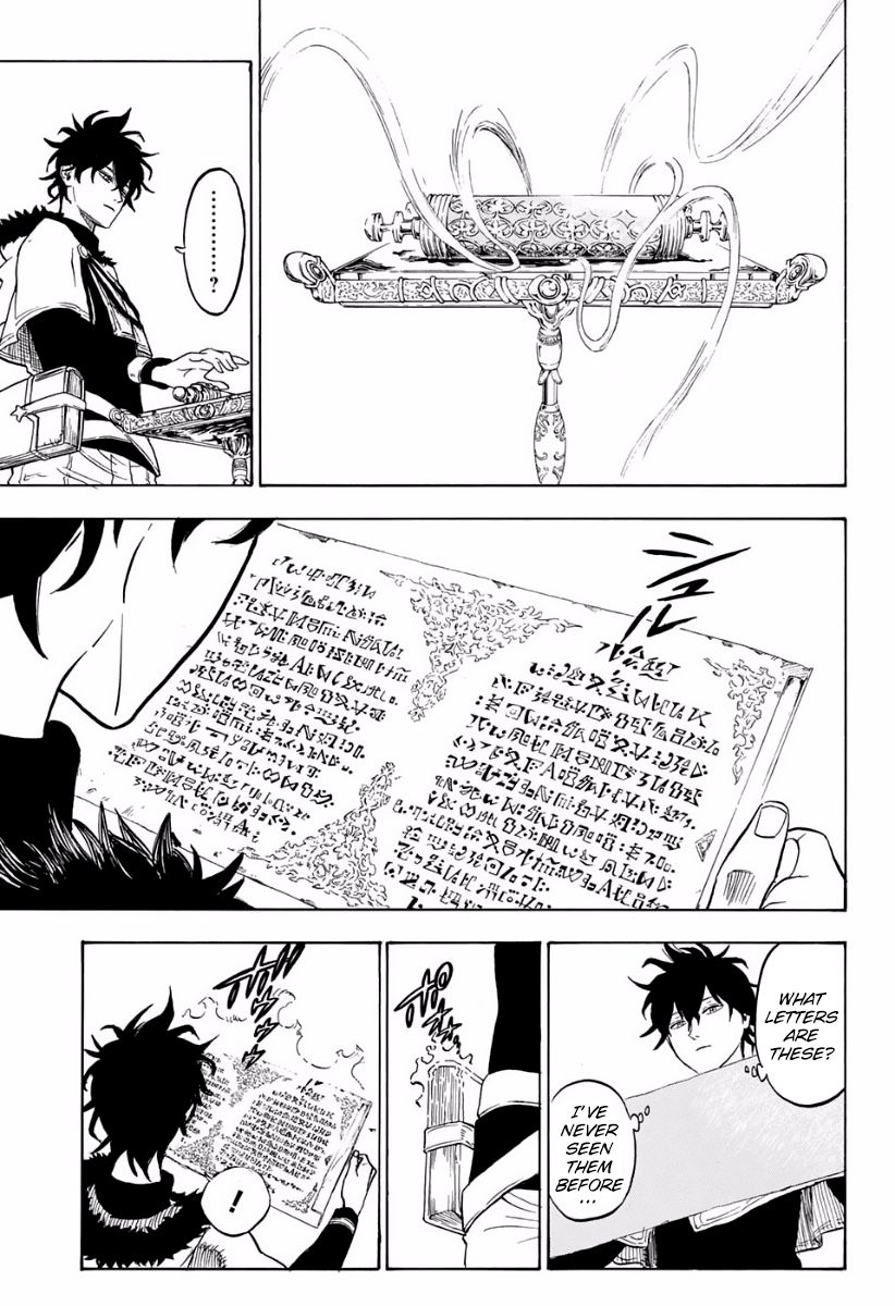 Black Clover, Chapter 18 In the Depths of The Treasure Room image 006
