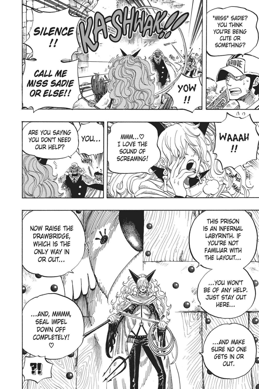 One Piece, Chapter 531 image 004