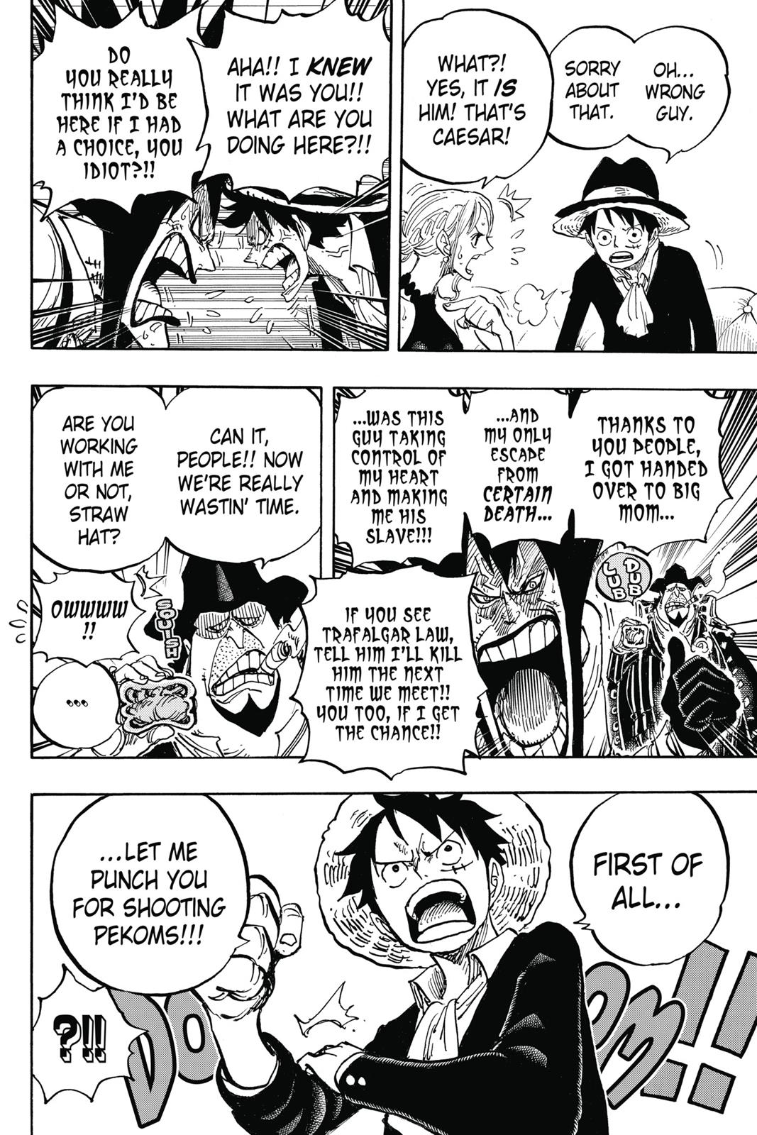 One Piece, Chapter 858 image 016