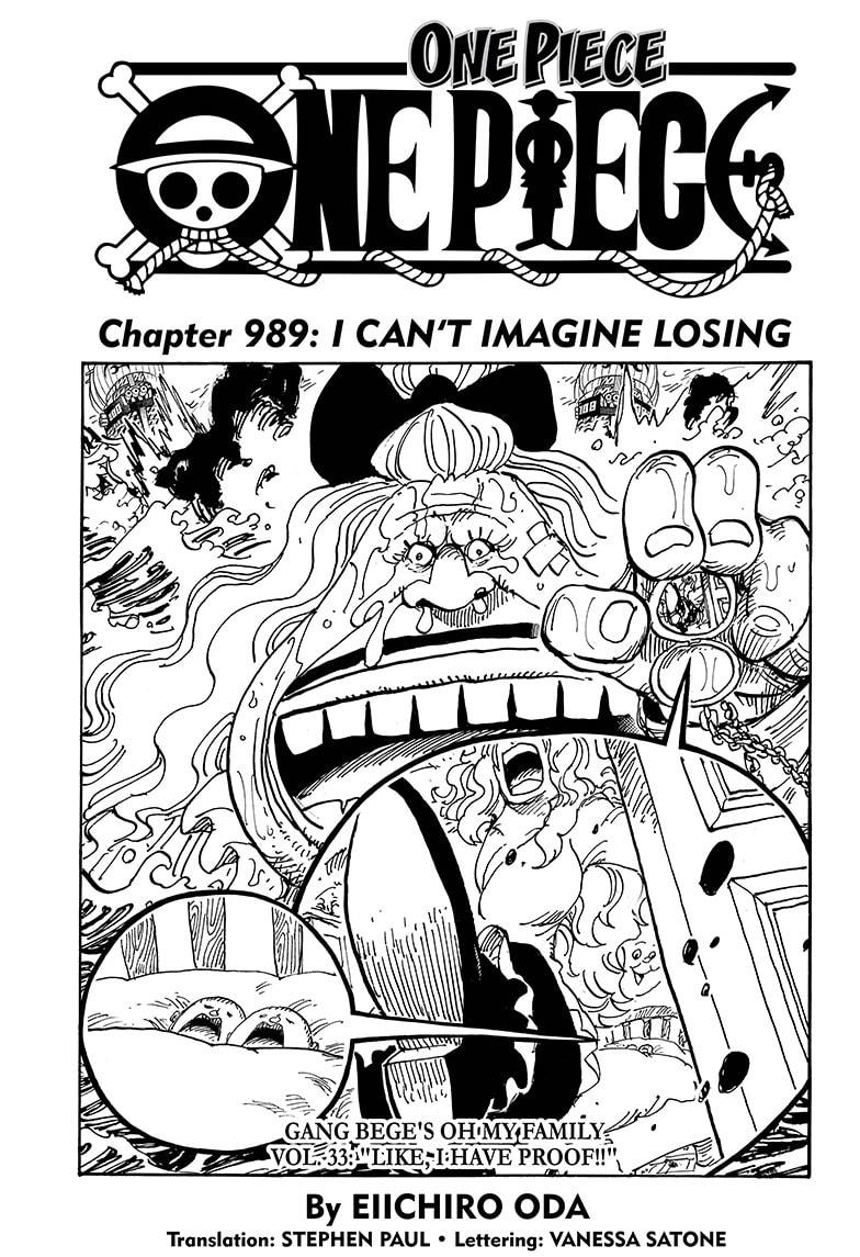 One Piece, Chapter 989 image 001