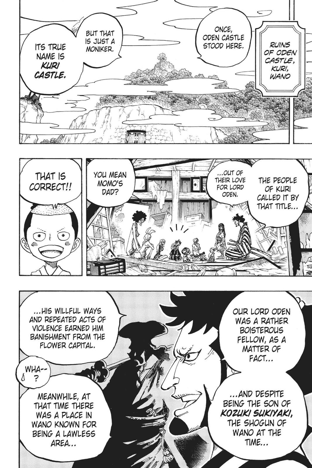 One Piece, Chapter 920 image 002