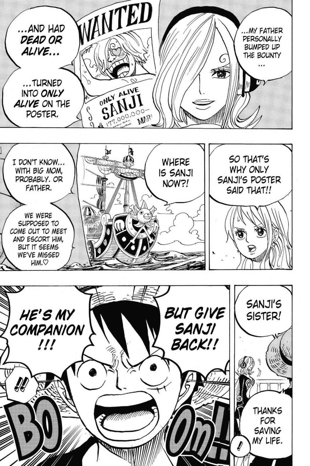 One Piece, Chapter 826 image 015