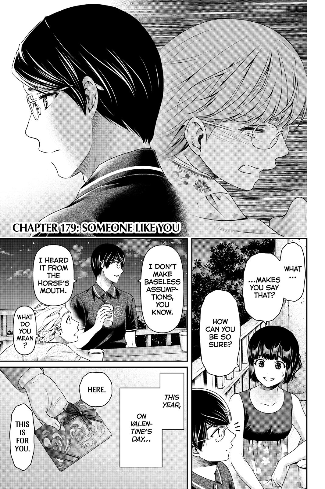 Domestic Na Kanojo, Chapter 179 image 001