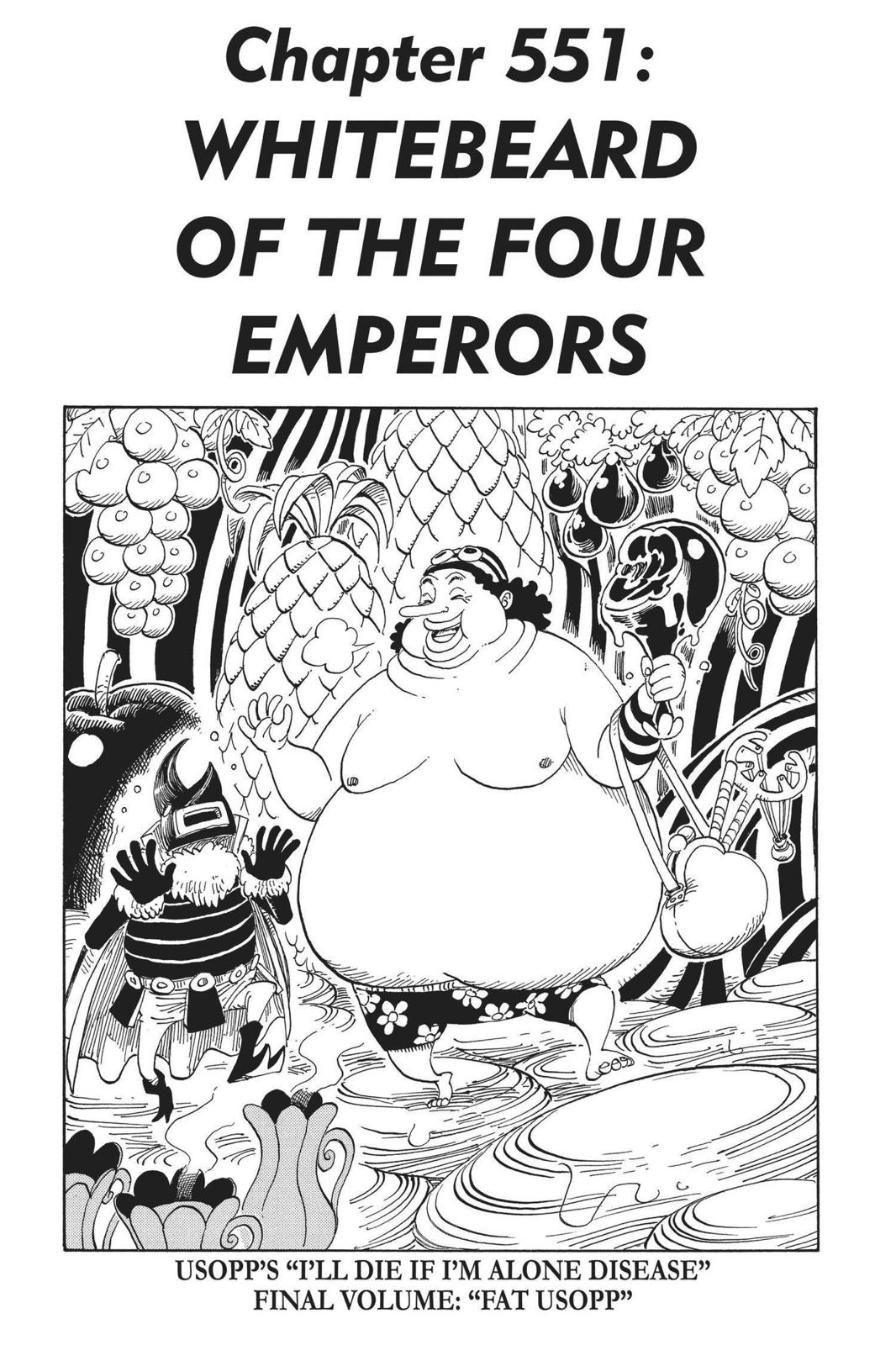 One Piece, Chapter 551 image 001