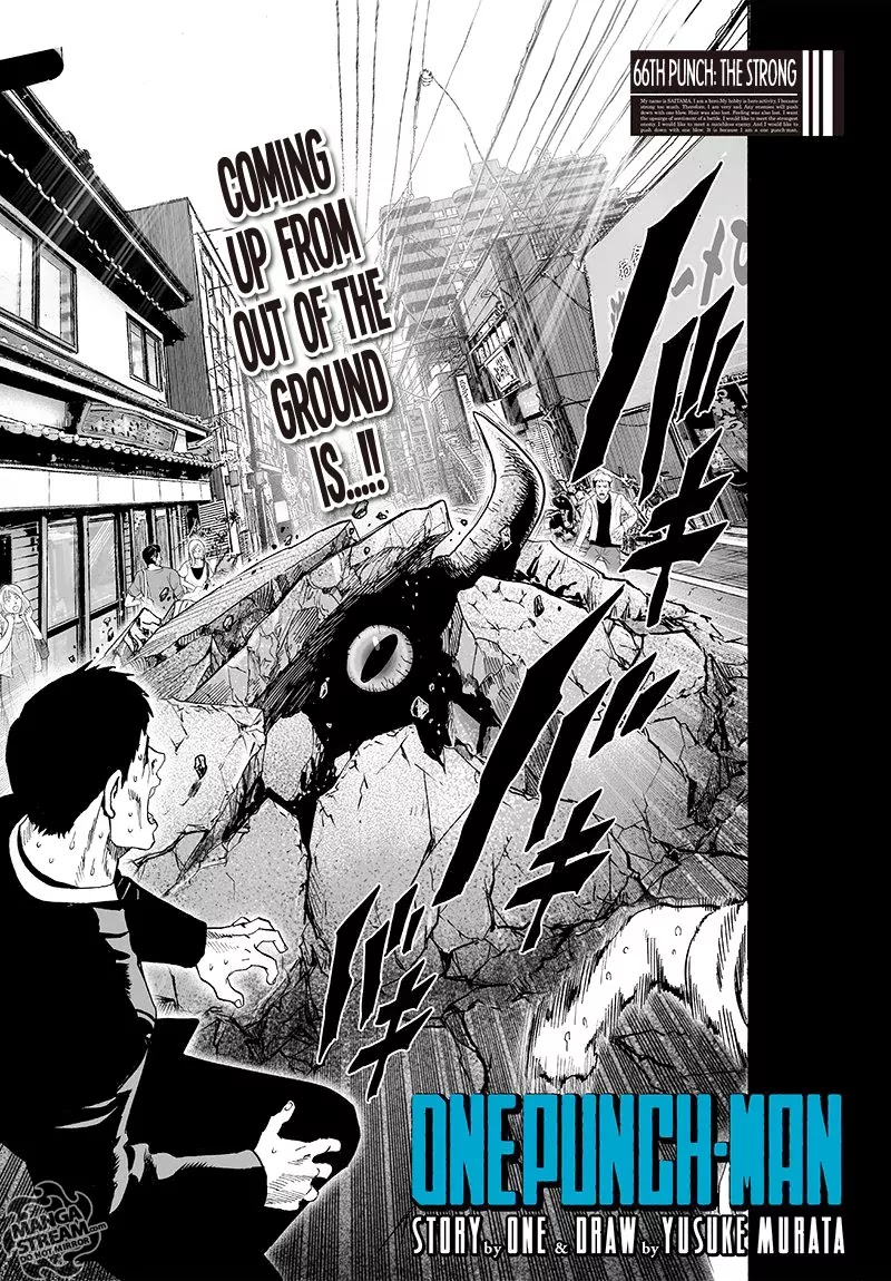 One Punch Man, Chapter Onepunch-Man 66 image 001