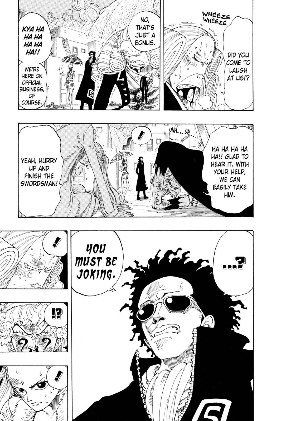 One Piece, Chapter 110 image 009