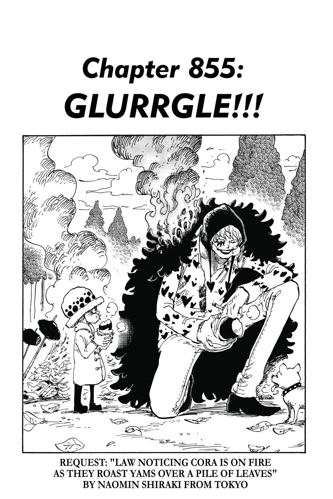 One Piece, Chapter 855 image 001