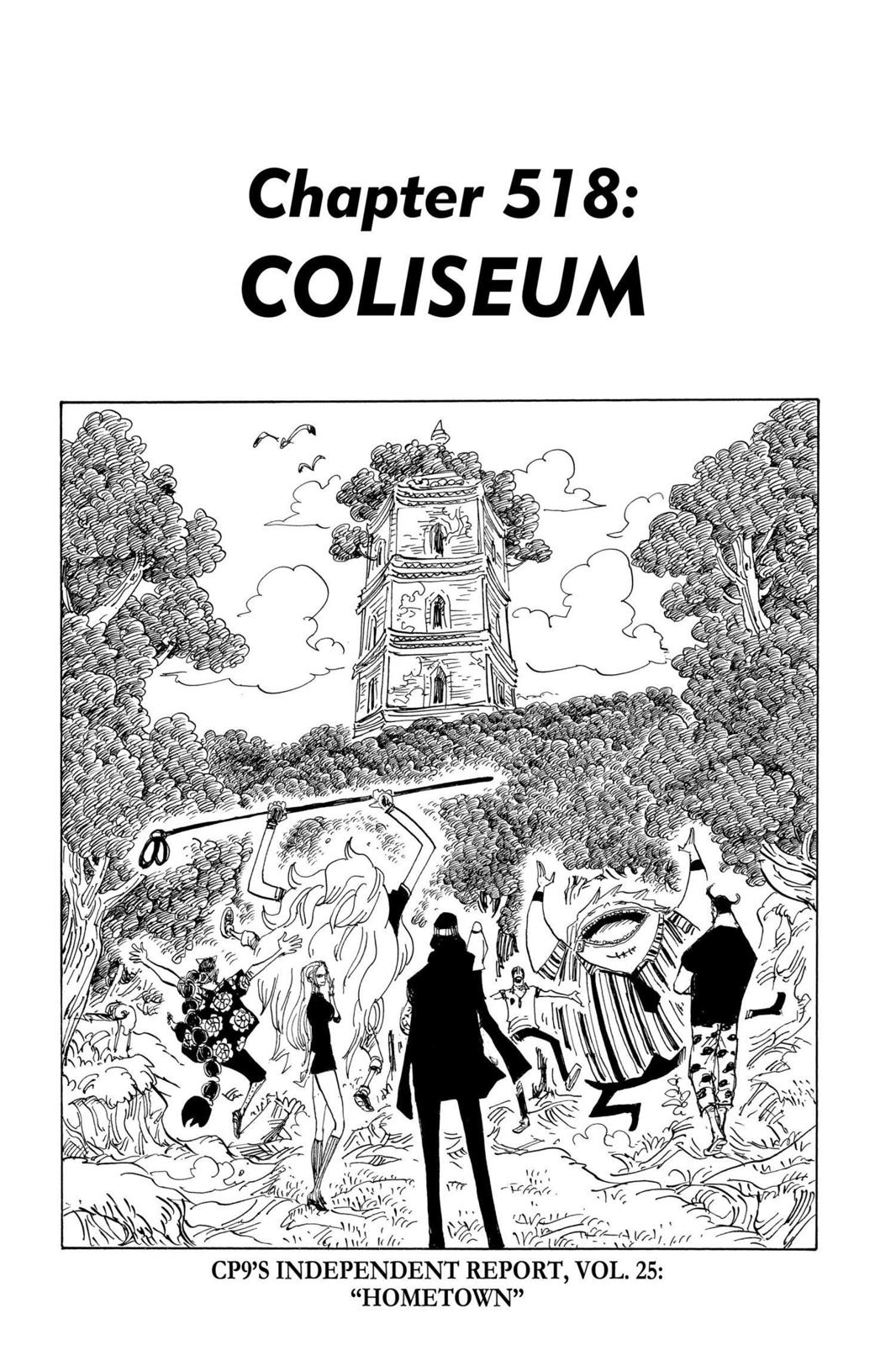 One Piece, Chapter 518 image 001