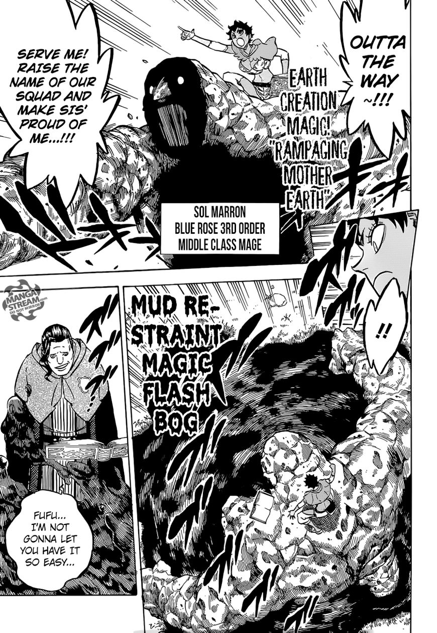 Black Clover, Chapter 116 Coral Peacock's Captain image 010
