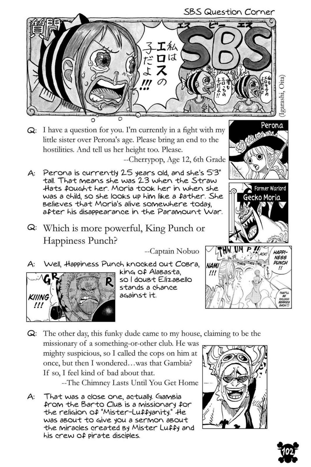 One Piece, Chapter 821 image 019