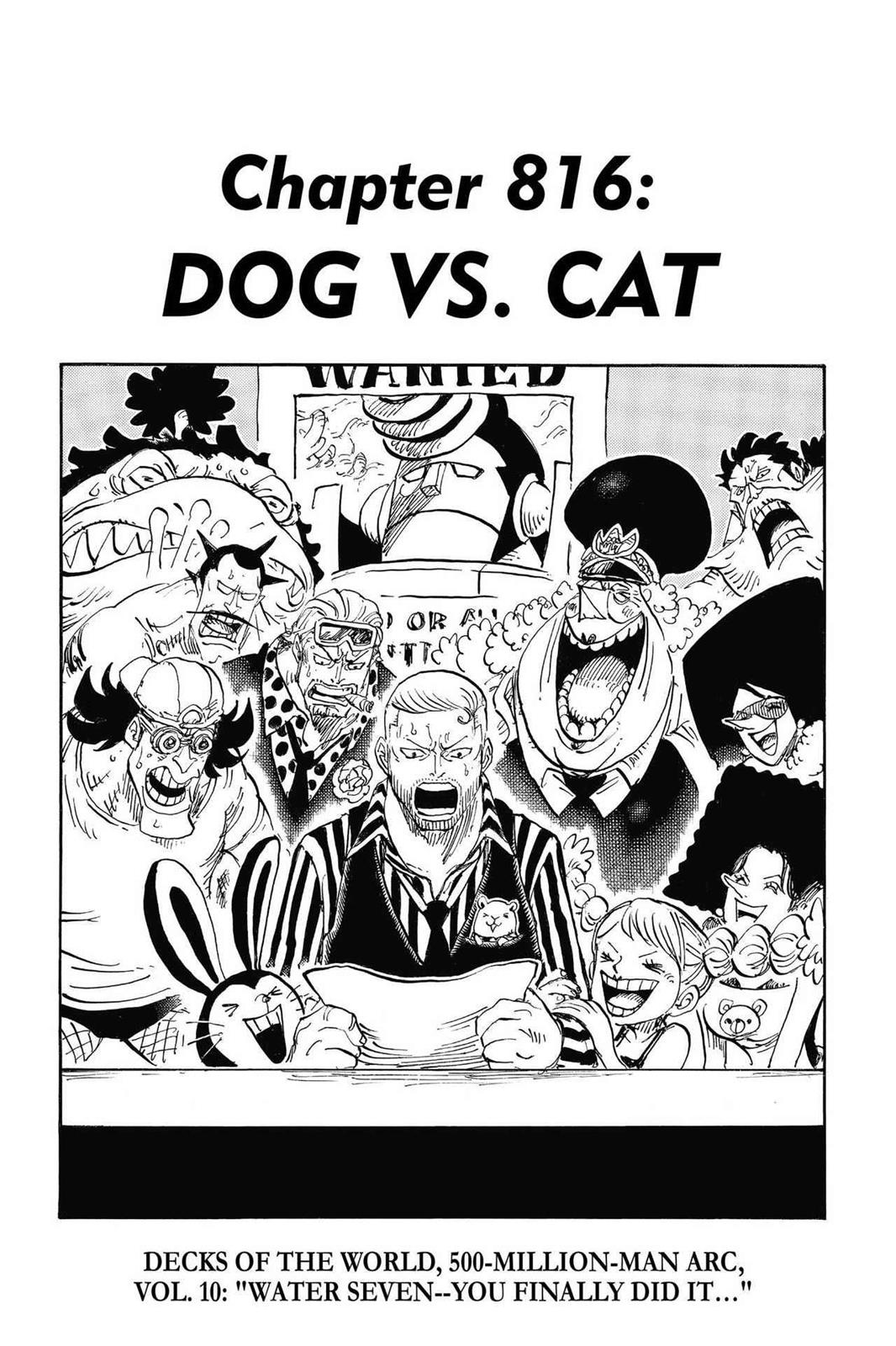 One Piece, Chapter 816 image 001