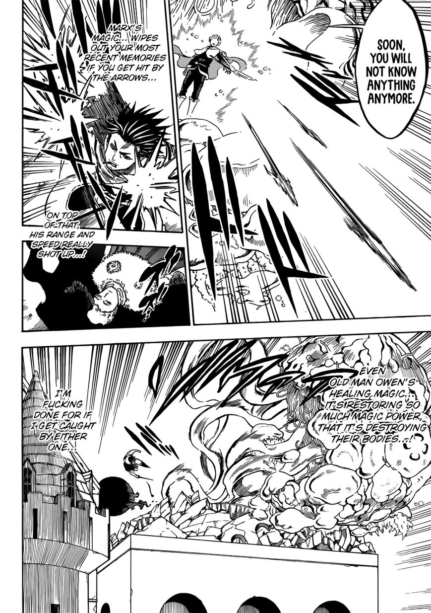 Black Clover, Chapter 168 VS People who have Sworn Loyalty to the Same Man image 007