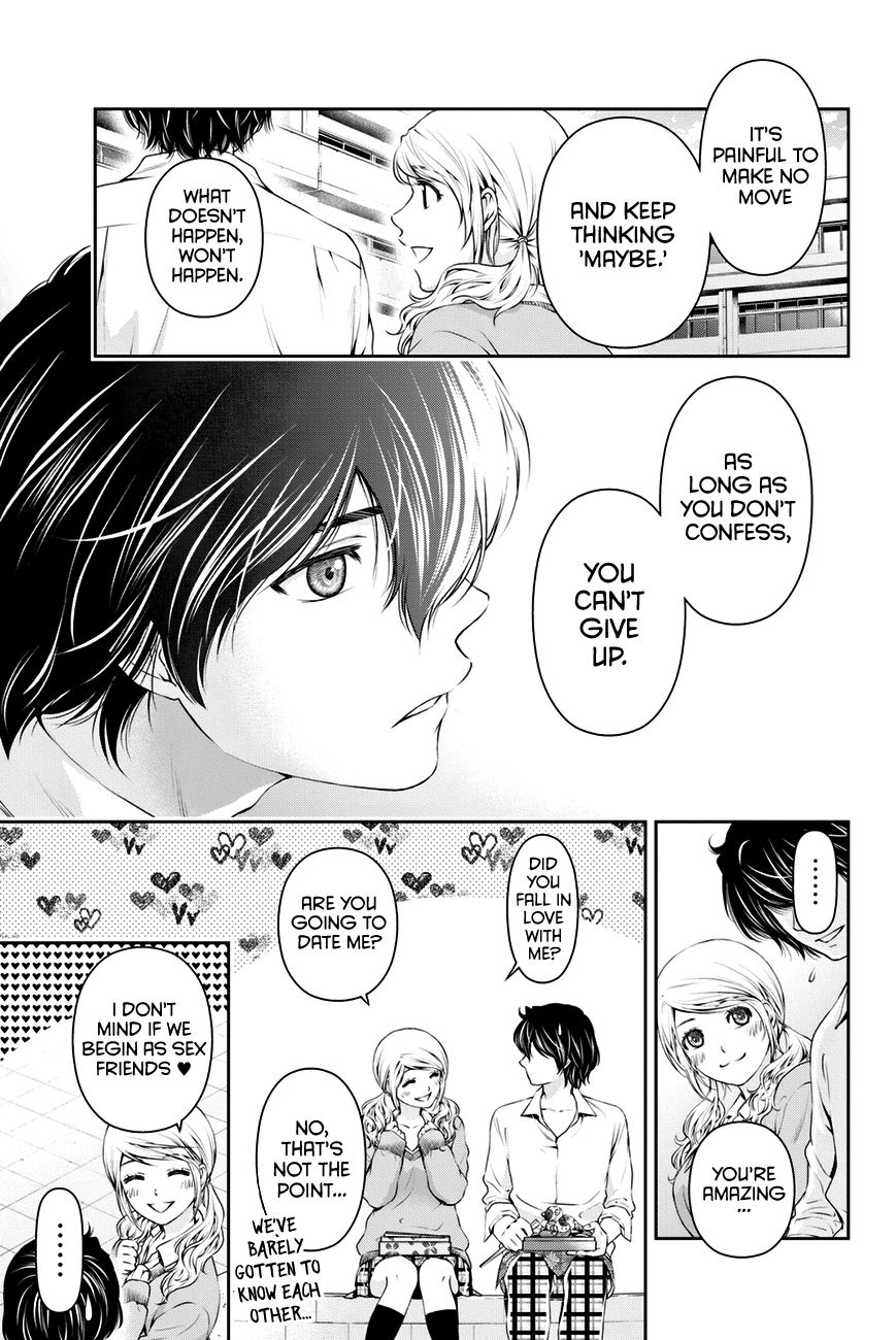 Domestic Girlfriend, Chapter 13 Reconciliation image 016